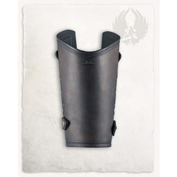 Vambrace Artemis brun, pr stk., Størrelse S