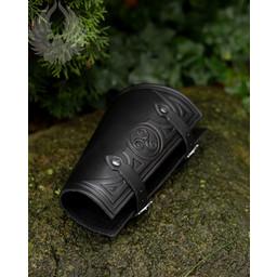 Vambrace Artemis black L, per piece