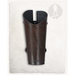 Vambrace Artemis brun L, pr stk