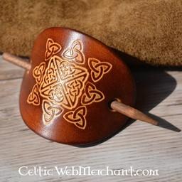 Celtic Hairpin Nuala dunkelbraun