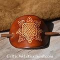 Horquilla Celta Nuala dark marrón