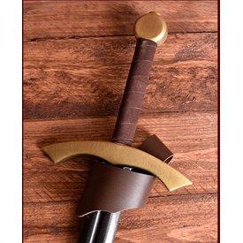 titular espada LARP, marrom