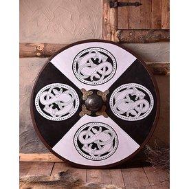Deepeeka Viking Wooden Shield Urnesstyle