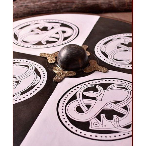 Deepeeka Houten Vikingschild urnesstijl
