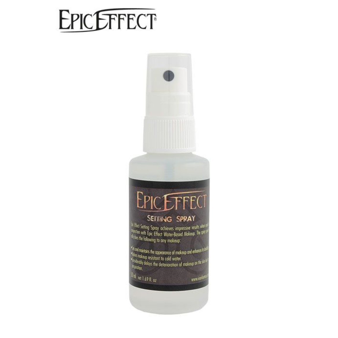 Epic Armoury Epic Effect Make- Up Ustawienie Spray, pokoje aerozolu 50ml