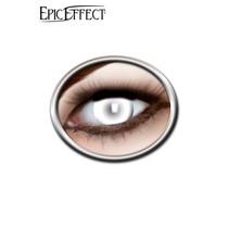 Epic Armoury Gekleurde contactlenzen wit, LARP accessoir