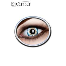 Epic Armoury Farbige Kontaktlinsen Blau und Gelb, LARP Zubehör