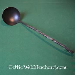 Medieval iron spoon