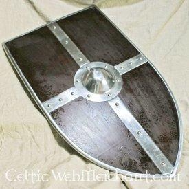 Deepeeka Escudo medieval con umbo