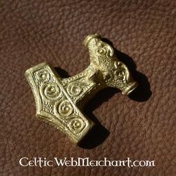 Skane Thors hammer, brass