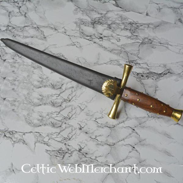 Marshal Historical Dagger com guarda em forma de concha (1500-1600)