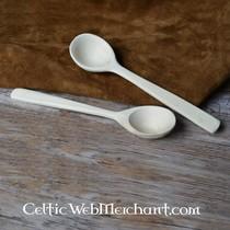 Mes en vork met gedraaide grip