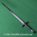 Deepeeka Espada medieval de caballero, una mano