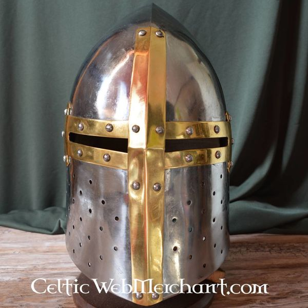 Marshal Historical French great helmet (12th-13th century)