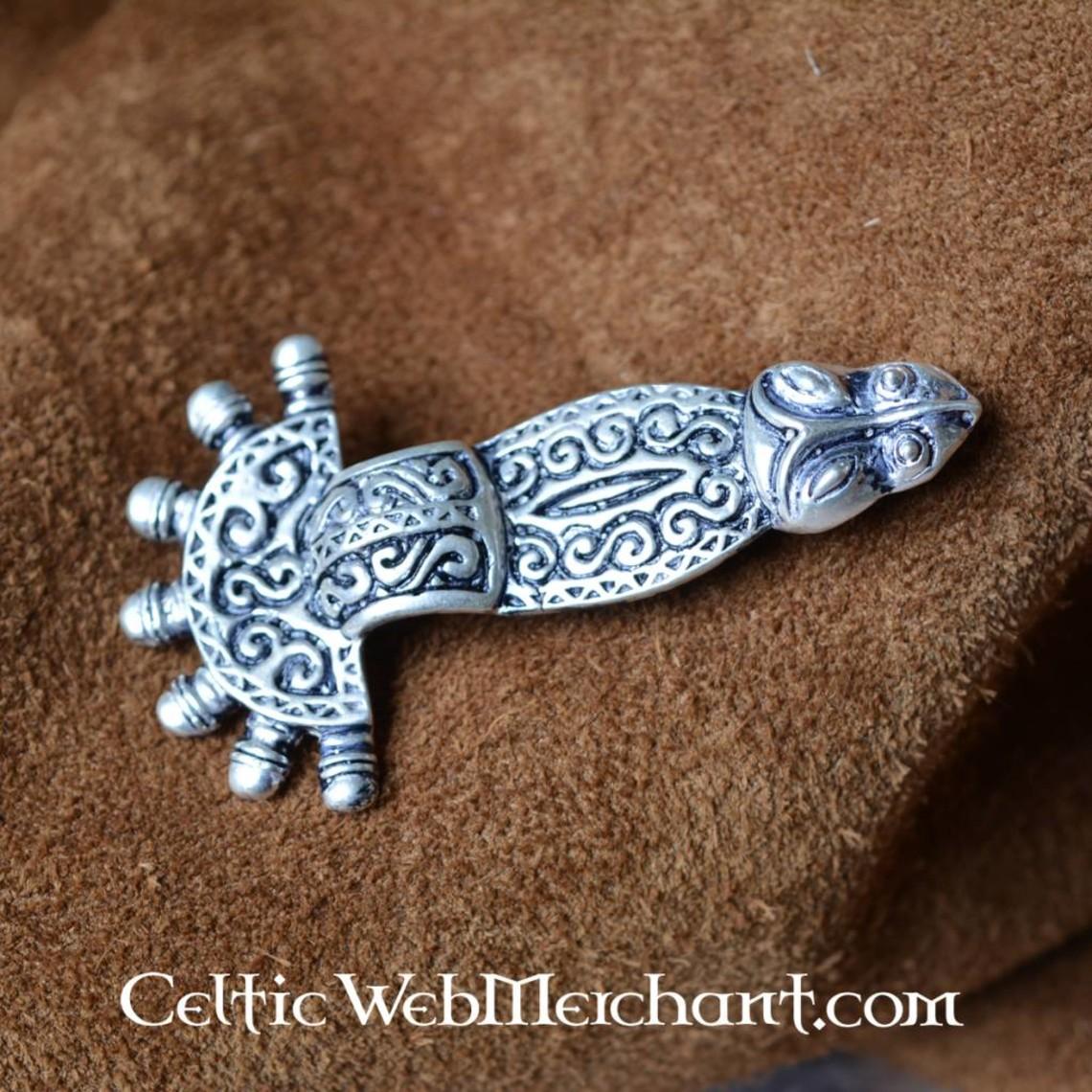 500-talet Merovingian fibula