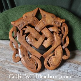 Wooden Odins wolf