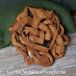 Holz Odin Wölfe