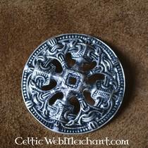 Viking disc fibula Borre style