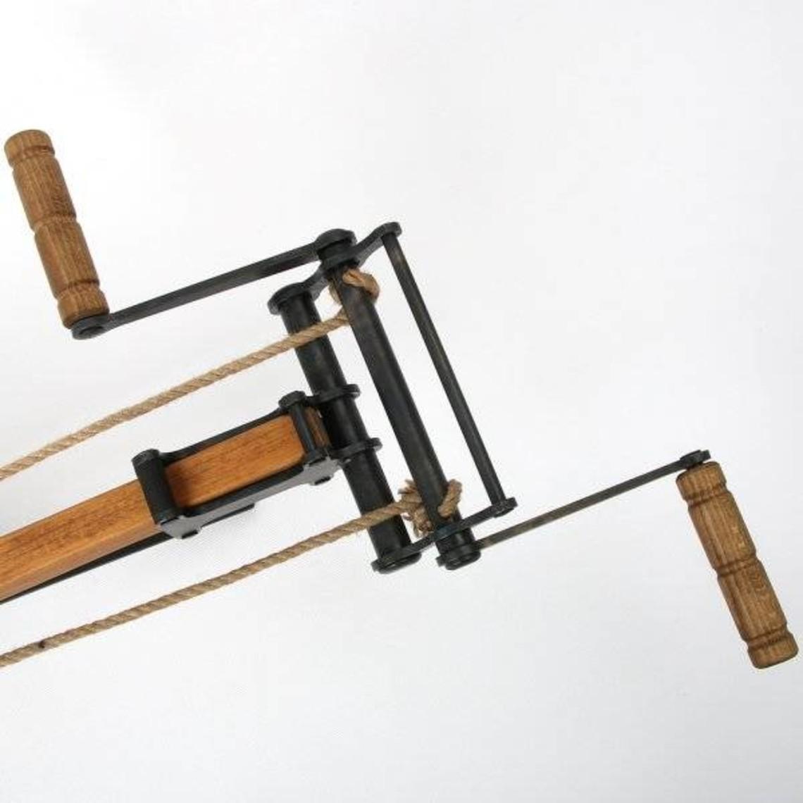Molinete para ballesta tradicional