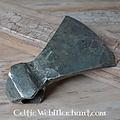 Ulfberth Lame (fer) de hache, forgée main, patinée, aiguisée