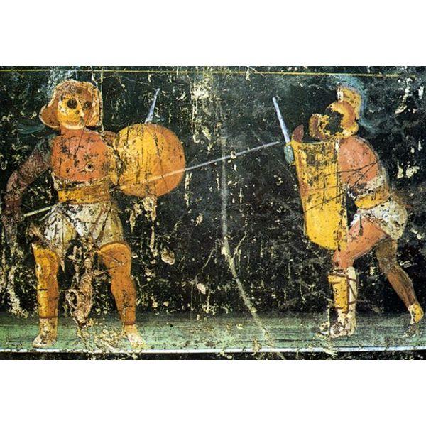 Deepeeka Beskyttelse Gladiator Leg