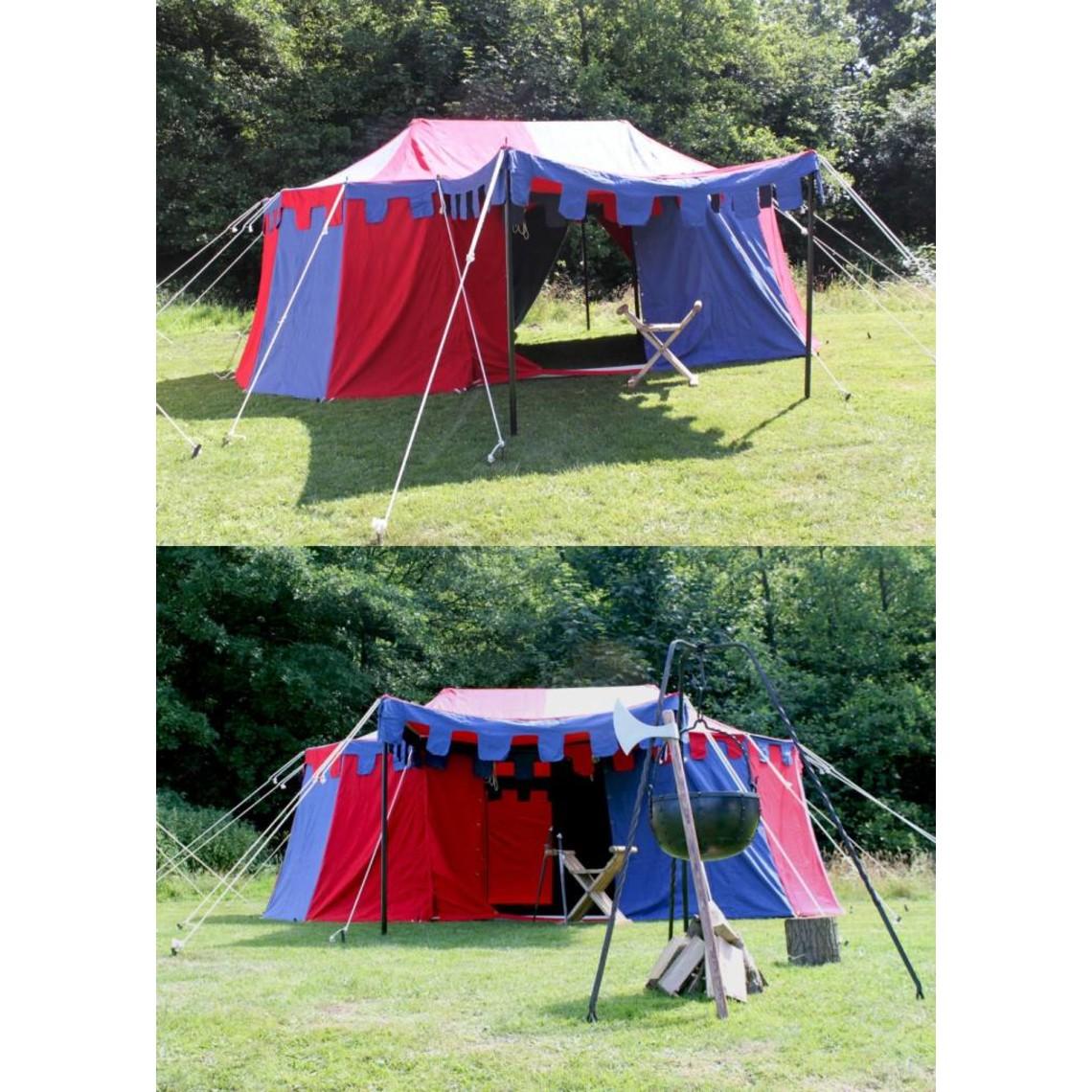 Średniowieczny namiot Burgund, 3 x 5 m