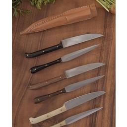 Cuchillo Siglo 14 y eetprikker