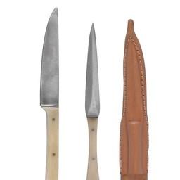 14. århundrede kniv & spise pick