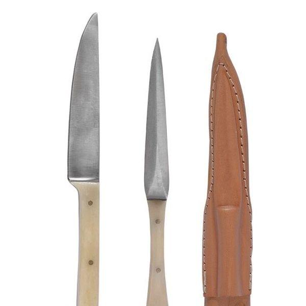 1300-talet kniv och äta pick
