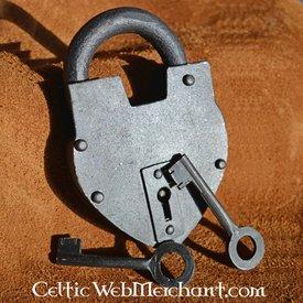 Deepeeka Historical heart-shaped padlock