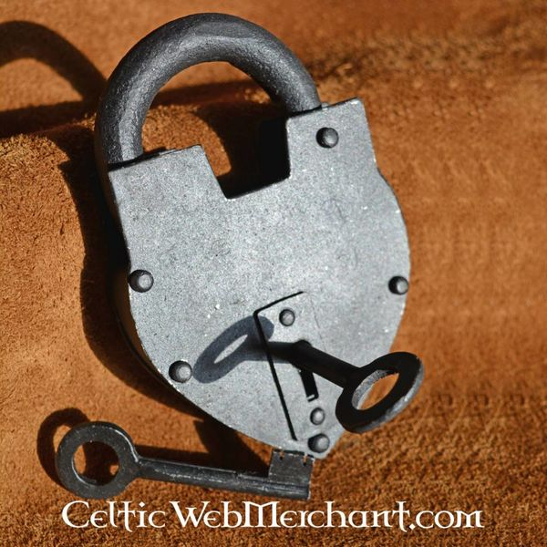hartvormig historisch hangslot celticwebmerchant