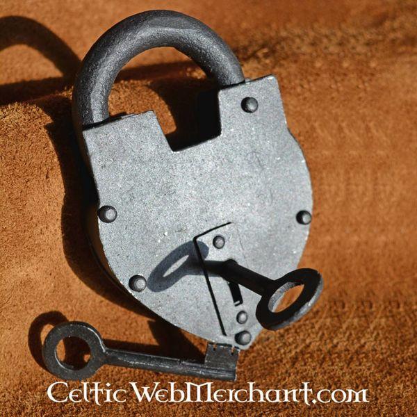 Deepeeka Historique cadenas en forme de coeur
