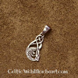 Celtic pendant water horse
