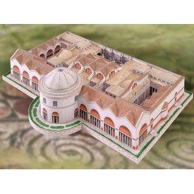 Modelo Banhos kit de construção de Caracalla
