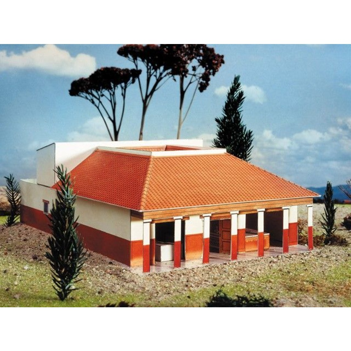 Model kit budynek Roman Villa