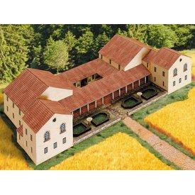 Modelo de construção kit villa rustica
