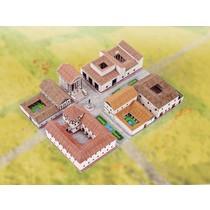 modello di carta città romana