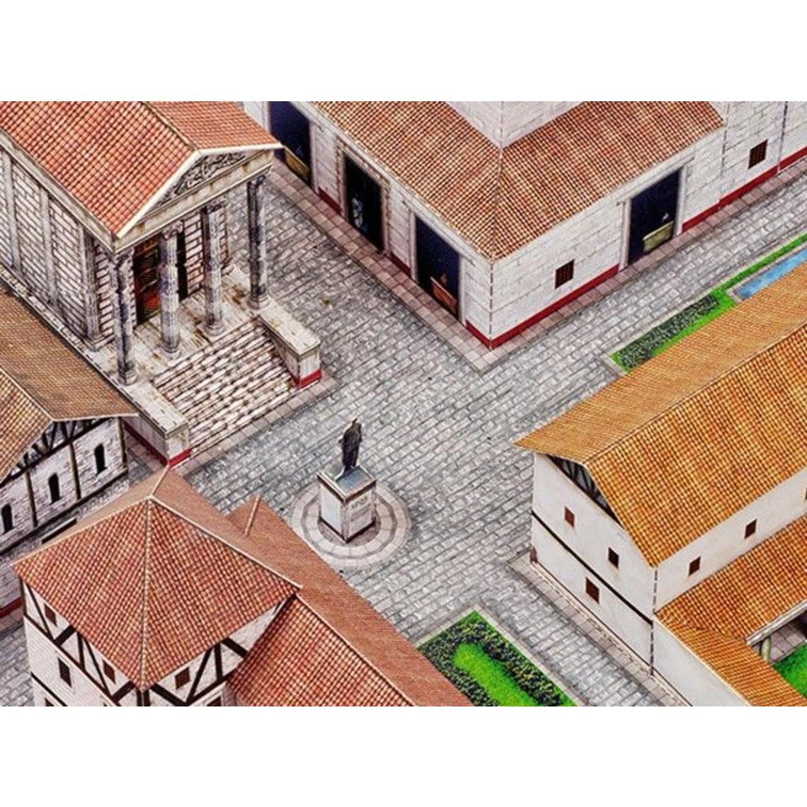 Model kit budynek rzymskiego miasta