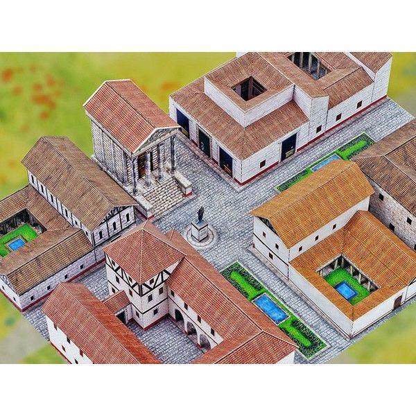 Model building kit Roman city