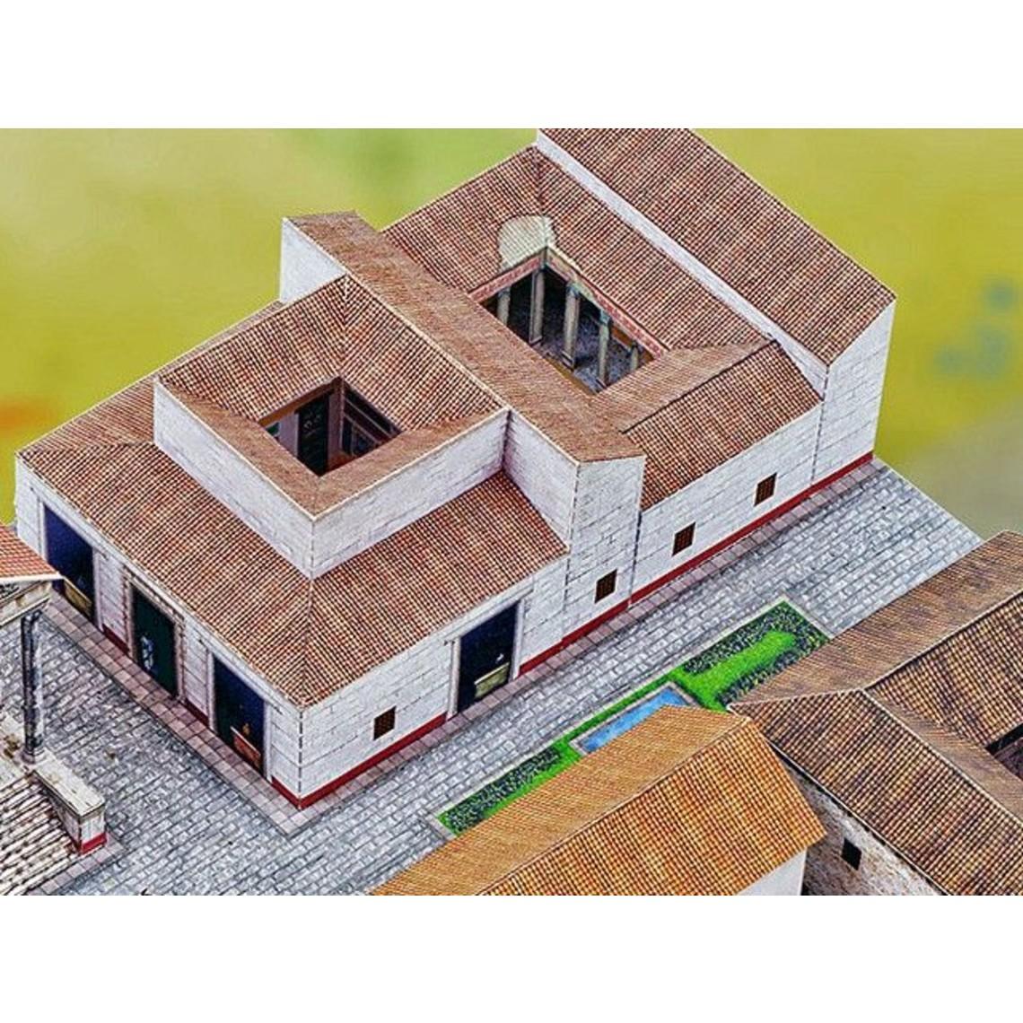 Model byggesæt romersk by