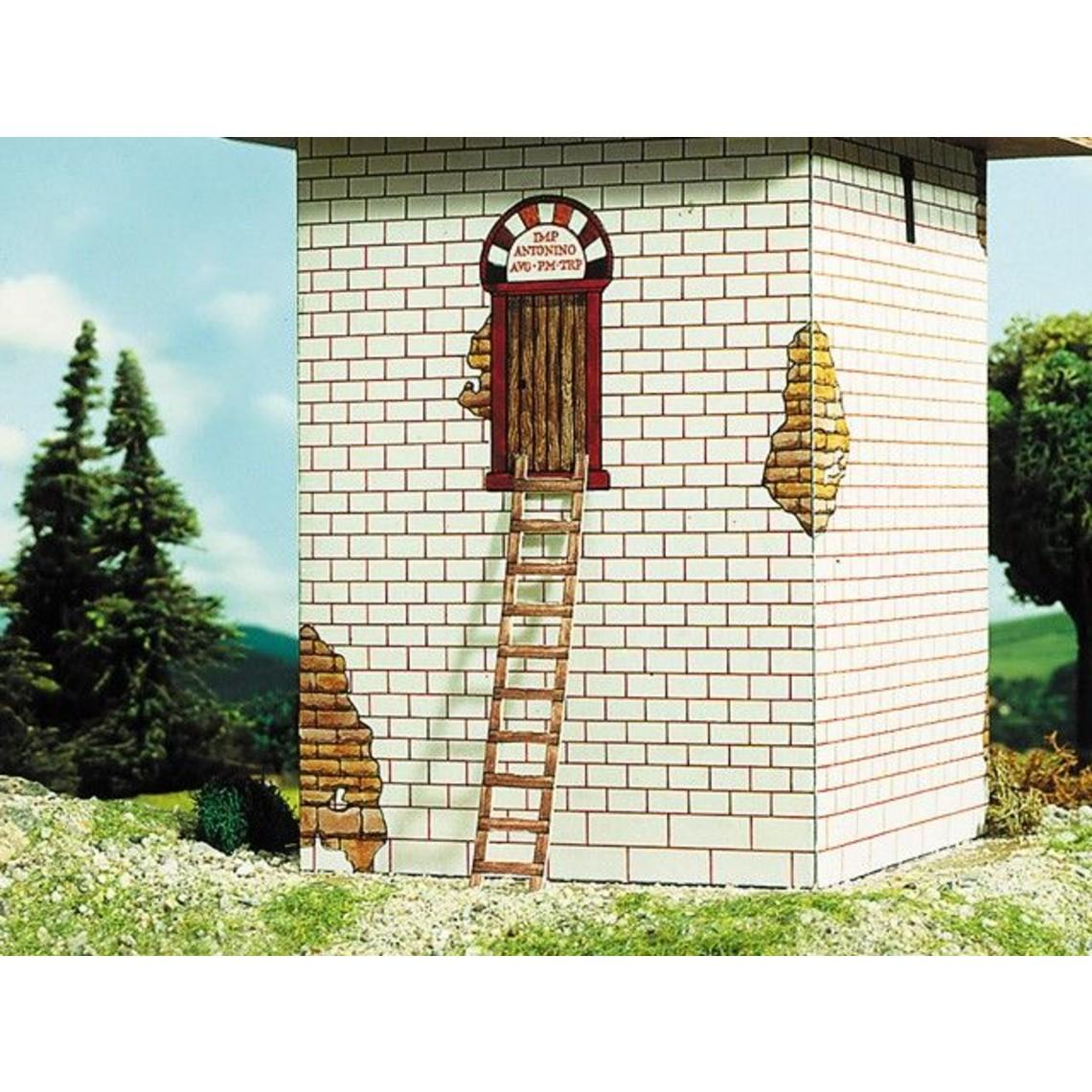 Panel de construcción torre de vigilancia romana