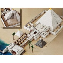 Modell byggsats pyramid tempel
