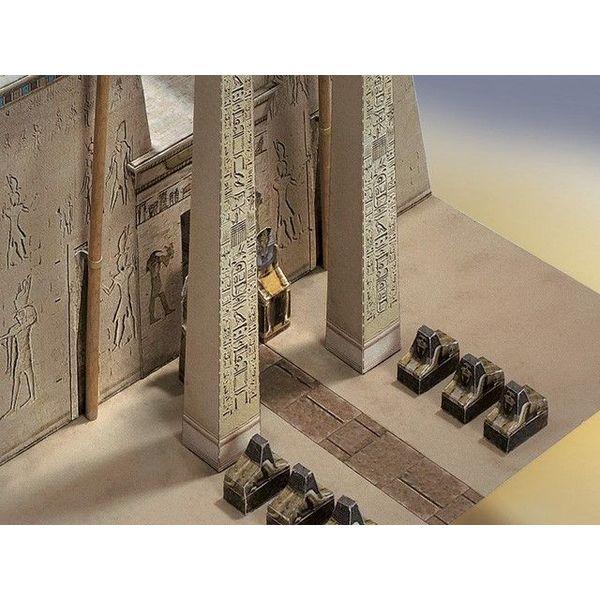 Modellbaukastens ägyptischen Tempel 1550 - 1070 vor Christus.