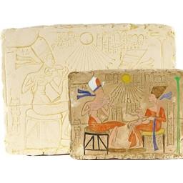 Alivio Aton y Nefertiti