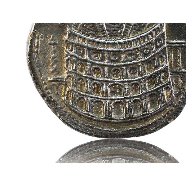 Roman myntöppning Colosseum