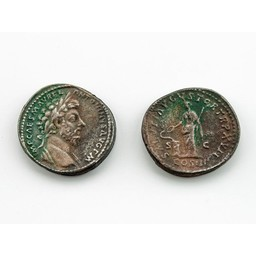 Roman coin Marcus Aurelius