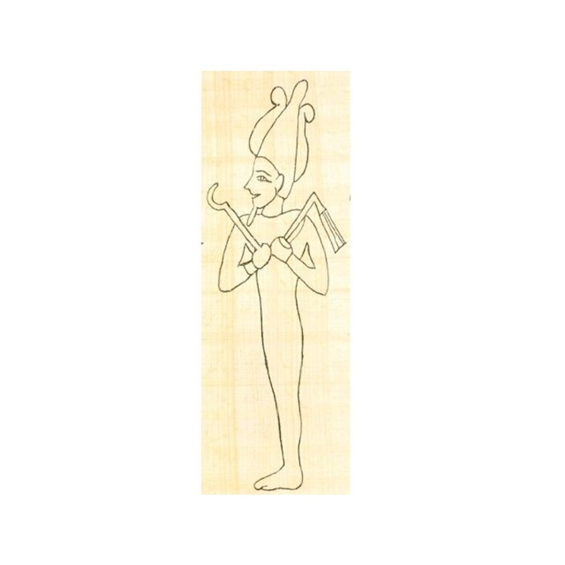 Papiro colorante Osiris