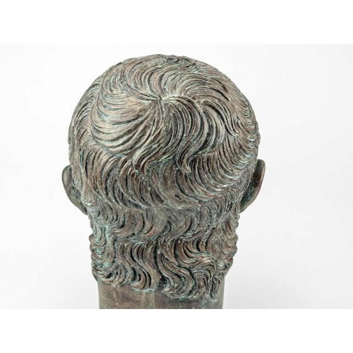 buste Bronzed empereur Néron