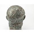 Gebronste buste keizer Nero