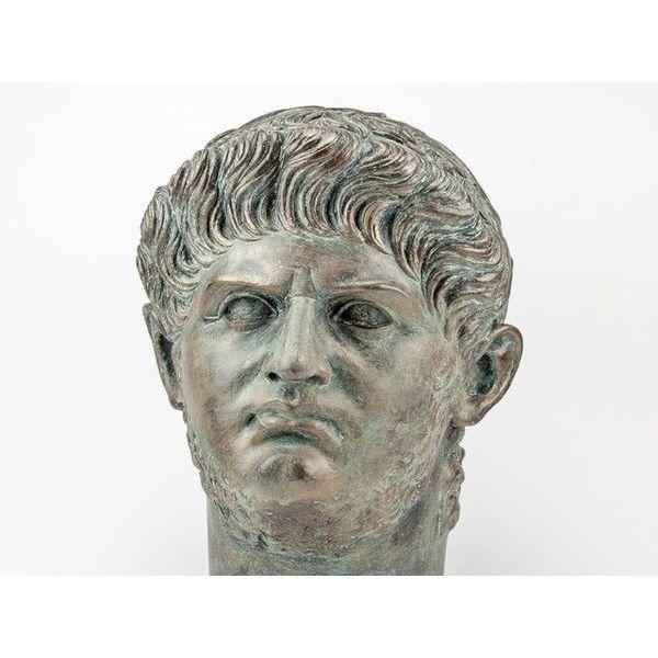 Bronzed byst kejsare Nero